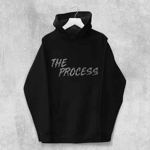 THE PROCESS HOODIE (BLACK, NAVY) - Titan Rise
