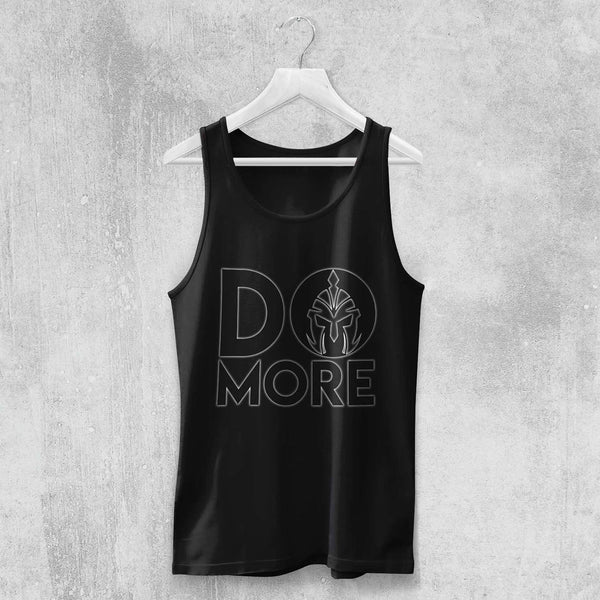 DO MORE TANK-TOP (BLACK) - Titan Rise