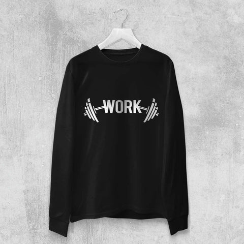 WORK LONG SLEEVE (WHITE, BLACK) - Titan Rise