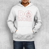 DO MORE HOODIE (WHITE) - Titan Rise