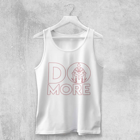 DO MORE TANK-TOP (WHITE) - Titan Rise
