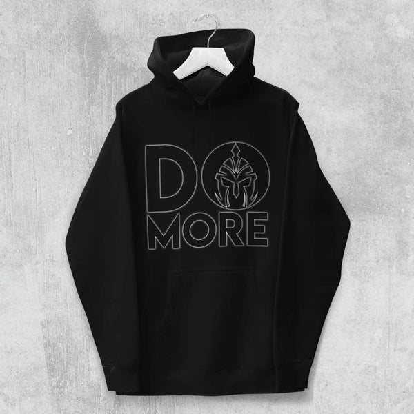 DO MORE HOODIE (BLACK) - Titan Rise