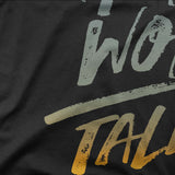 HARD WORK OVER TALENT HOODIE (WHITE, BLACK, NAVY) - Titan Rise