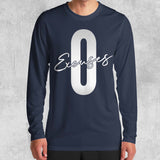 ZERO EXCUSES LONG SLEEVE (WHITE, BLACK, NAVY) - Titan Rise