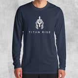 TITAN RISE LONG SLEEVE (WHITE, BLACK, NAVY) - Titan Rise