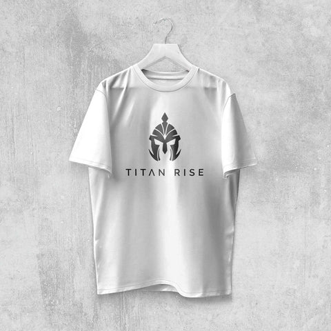 TITAN RISE T-SHIRT (WHITE, BLACK, NAVY, RED) - Titan Rise