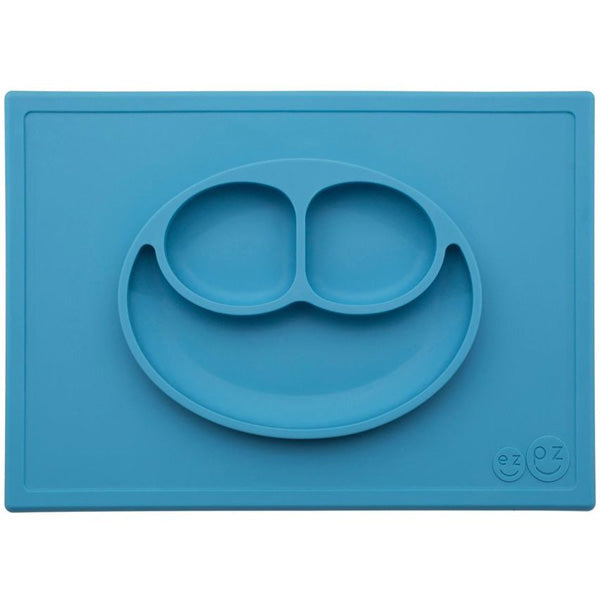Ezpz Happy Mat: 2 in 1 Silicone Placement and Plate with Non-Slip Base