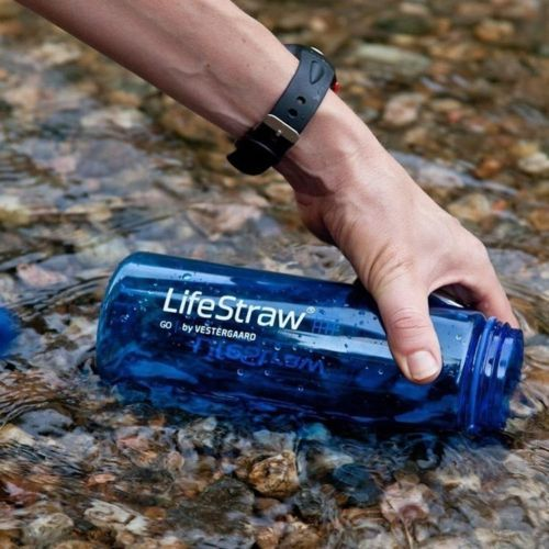 LifeStraw Go Bottle: Personal Water Filter With Drink Bottle