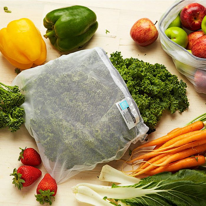 Onya Produce Bags: Reusable and Collapsible Grocery Bags - Pack of 8