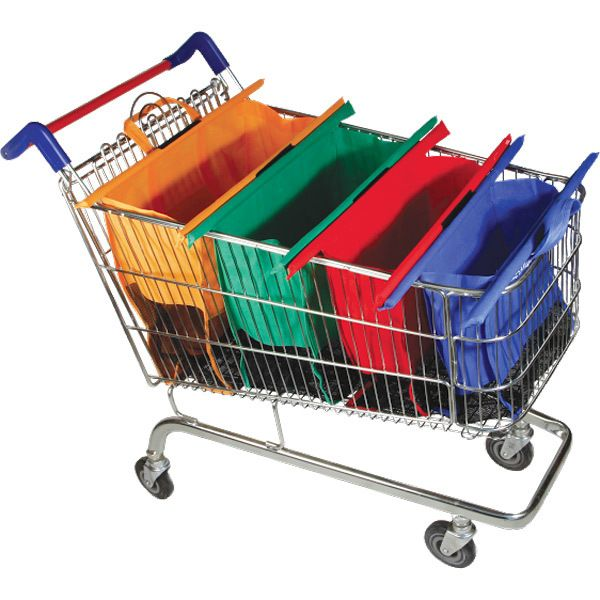Trolley Bags: Reusable Shopping Bags That Make Packing Groceries a Breeze