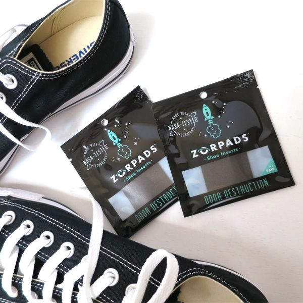 Zorpads Odor Destroying Shoe Inserts: Keep Your Shoes Odor Free for 2 Months
