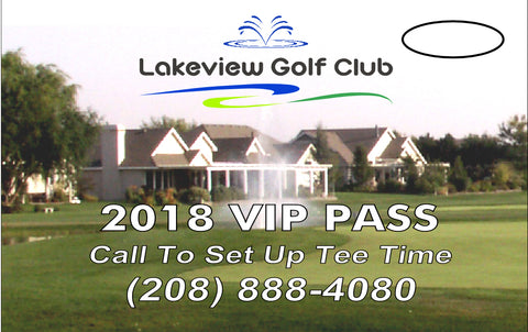 2018 Lakeview VIP Pass