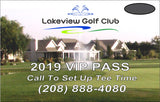 2019 Lakeview VIP Pass (10-Round Card)