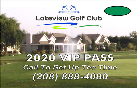 2020 Lakeview VIP Pass (10-Round Card)