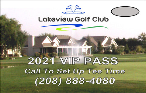 2021 Lakeview VIP Pass (10-Round Card)