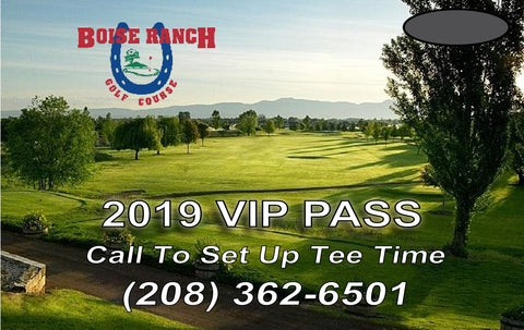 2019 Boise Ranch VIP Pass