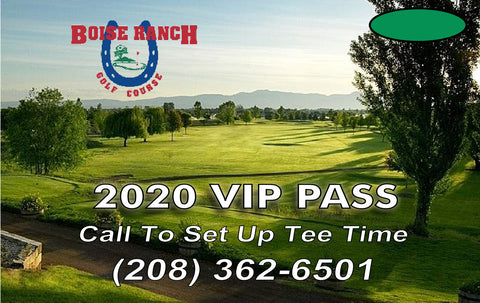 2020 Boise Ranch VIP Pass (10-Round Card)