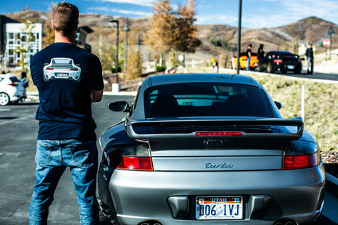 996 Turbo back end shirt