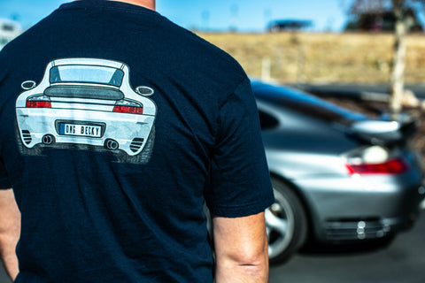 Porsche 911 Turbo back shirt