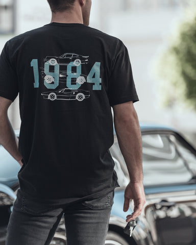 1984 Vintage Supercar T-Shirt