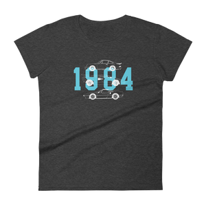 Women's 1984 Poster short sleeve t-shirt