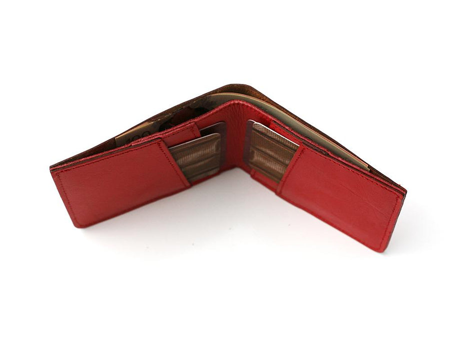 Vintage Mereces Benz Wallet Red