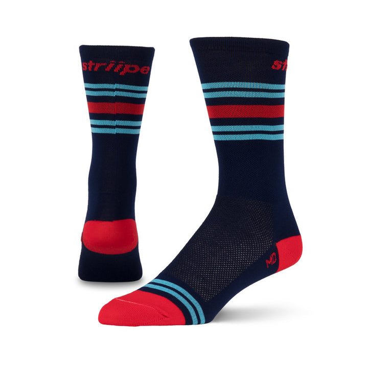 Stripe Martini Socks