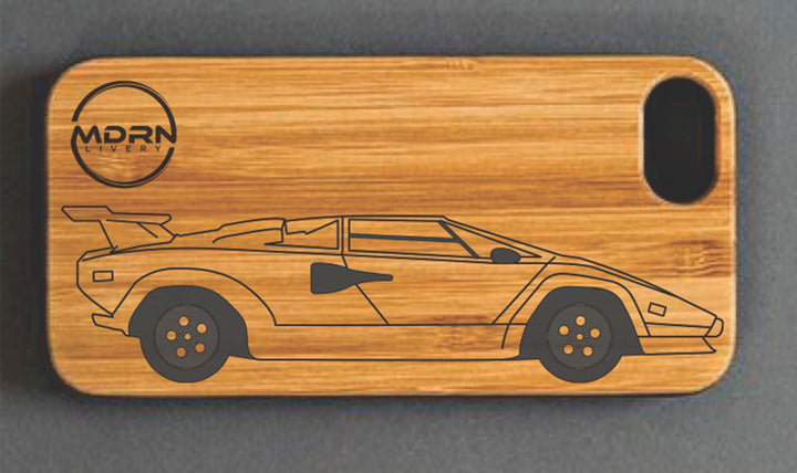 Lamborghini Countach phone case