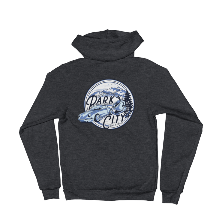 PC  Cars & Coffee Zip Hoodie