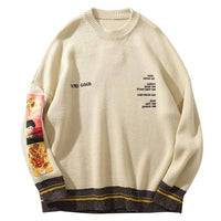 Vincent Van Gogh Embroidered Cotton Sweater