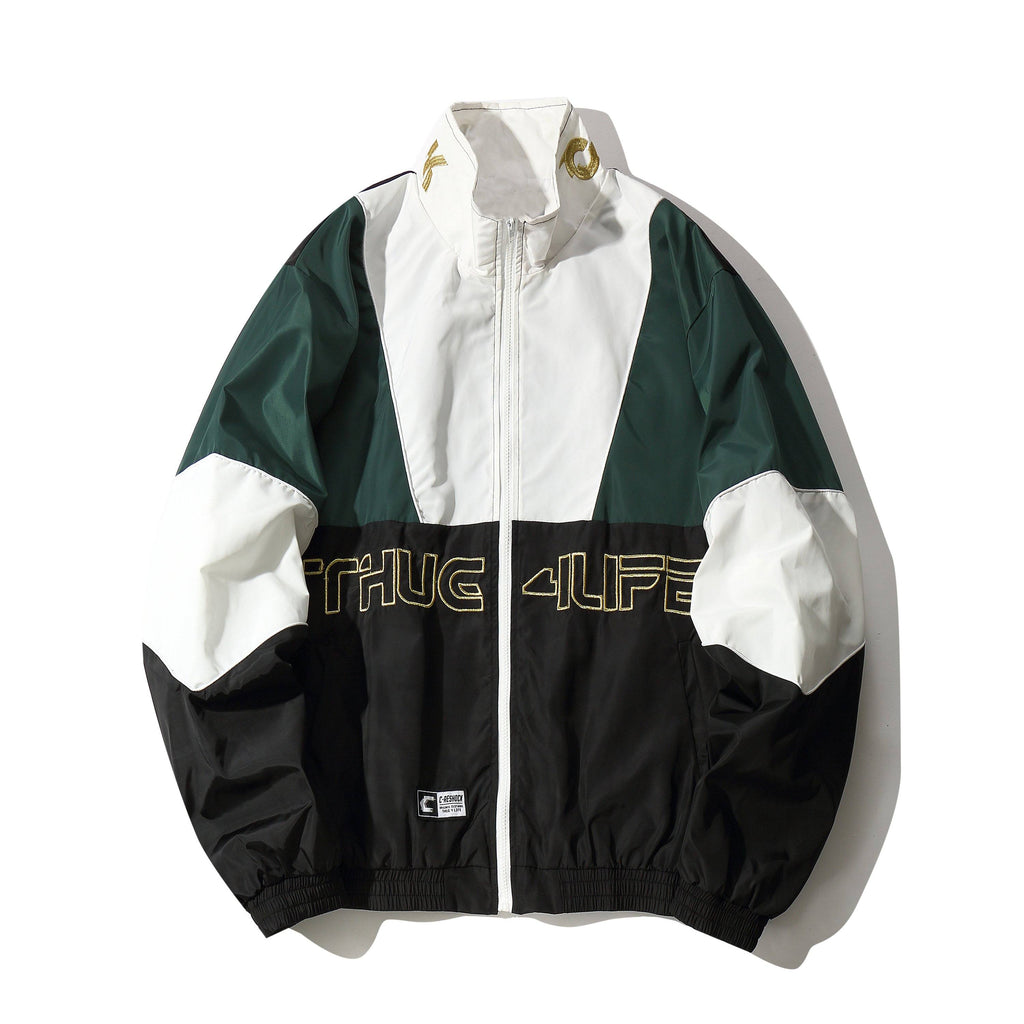 Thug 4L Zip-Up Jacket - CLOUT COLLECTION
