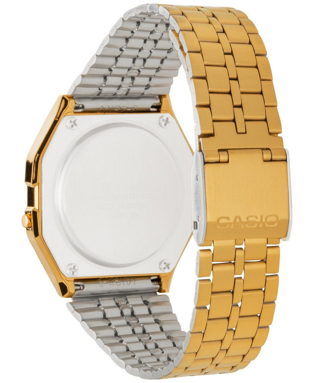 CASIO Vintage Digital Watch in Gold - CLOUT COLLECTION