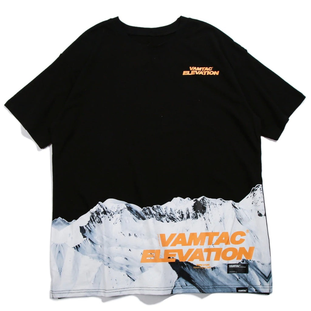 Vamtac Elevation T-Shirt in Black or White - CLOUT COLLECTION