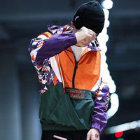 Disintegration 'Sprint' Pullover Windbreaker - Clout Collection High Fashion Streetwear Men's and Women's
