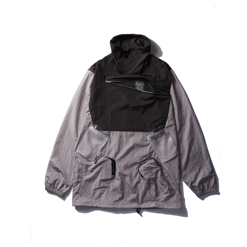 Extreme Aesthetic Covert Chest Pocket Windbreaker - CLOUT COLLECTION