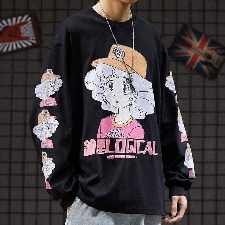Extreme Aesthetic 'Kawaii' Long Sleeve Tee