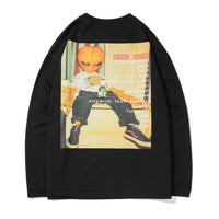 Chemical Reaction x Lil Mayo Long Sleeve Tee - Clout Collection High Fashion Streetwear Men's and Women's