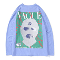 Mentalist Long Sleeve Tee with Vague Print - Clout Collection High Fashion Streetwear Men's and Women's