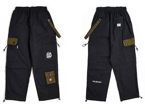 Earth Tone Cargo Joggers - Clout Collection High Fashion Streetwear Men's and Women's