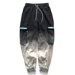 Lock n'Load Cargo Joggers in Two Tone Fade - Clout Collection High Fashion Streetwear Men's and Women's