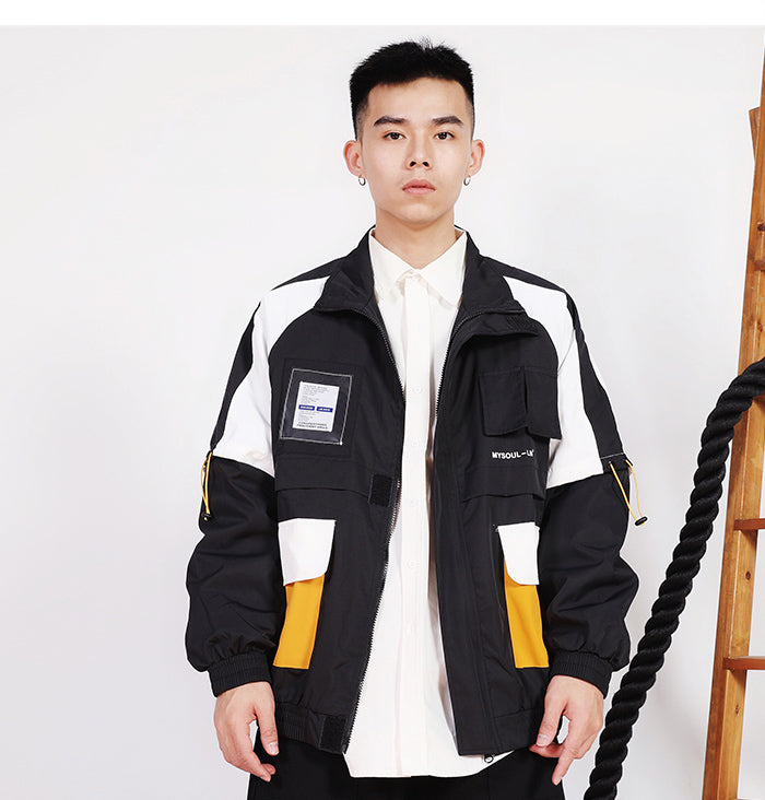 Clockwork Casual Street Windbreaker - Clout Collection High Fashion Streetwear Men's and Women's