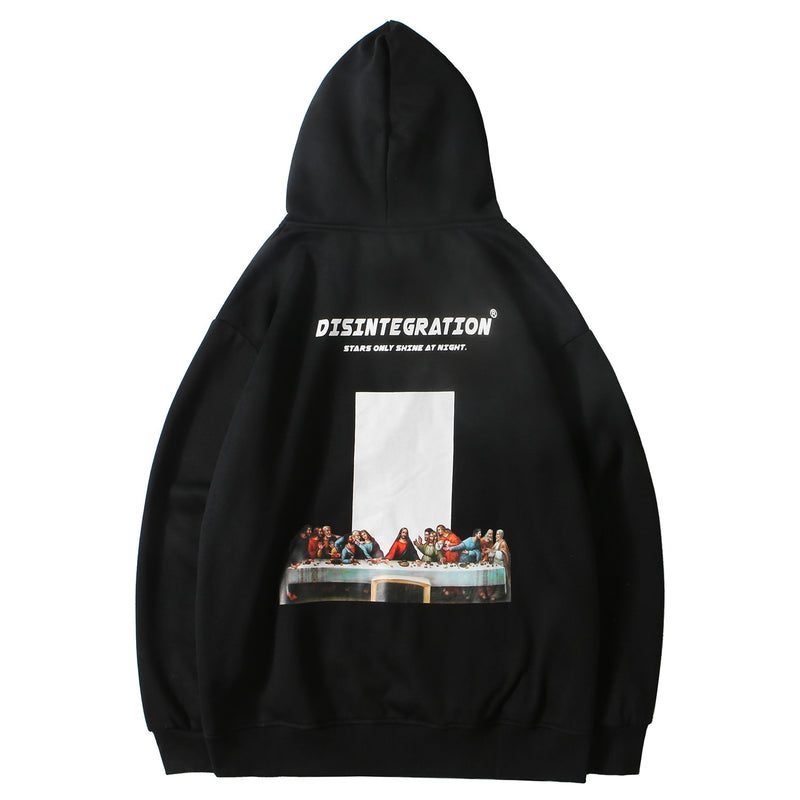 Disintegration 'Break Bread' Pullover Hoodie - Clout Collection High Fashion Streetwear Men's and Women's