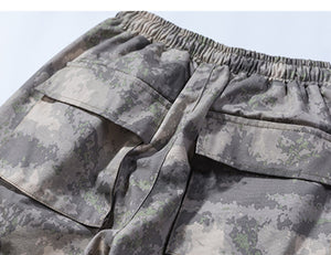 Subcrude Revival Tactical Cargo Joggers in Camo - Clout Collection High Fashion Streetwear Men's and Women's