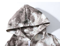 Digital Camo Tactical Hoodie - Clout Collection High Fashion Streetwear Men's and Women's