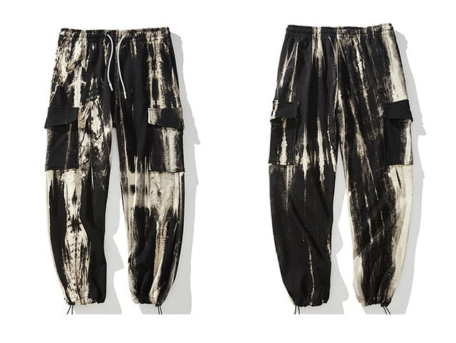 Extreme Tie-Dye Jogger Sweats - Clout Collection High Fashion Streetwear Men's and Women's