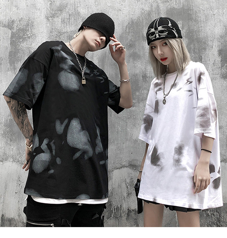 Freestyle Print Casual Cotton T-Shirt - Clout Collection High Fashion Streetwear Men's and Women's