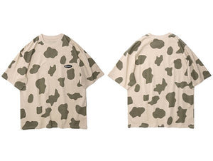 Senseless Camo Splotch Cotton T-Shirt - Clout Collection High Fashion Streetwear Men's and Women's