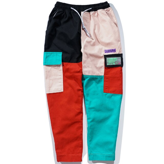 SubCrude Original Color Block Joggers - Clout Collection High Fashion Streetwear Men's and Women's
