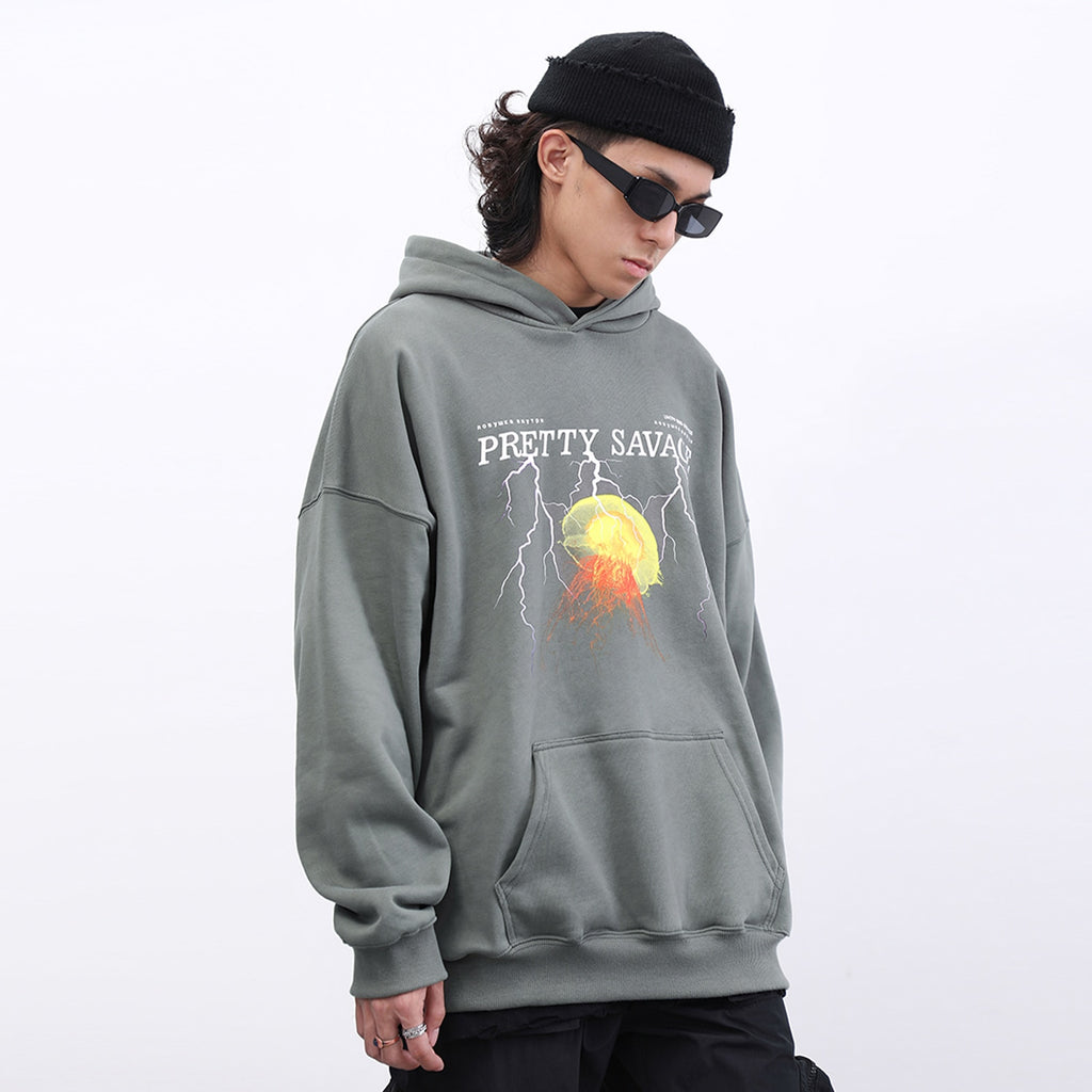 That's Pretty Savage Cotton Hoodie - Clout Collection High Fashion Streetwear Men's and Women's