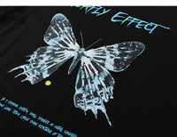 Chaos Theory Butterfly Effect Graphic T-Shirt
